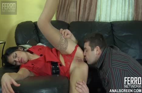 Муж наказал бухую женушку анальным трахом